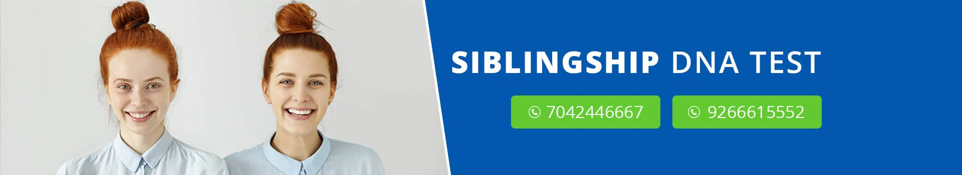 Siblingship DNA Test in India - DDC Laboratories India