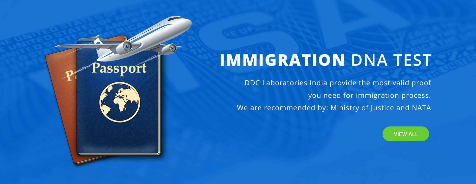 Immigration DNA Tests in India for VISA Approval - DDC Laboratories