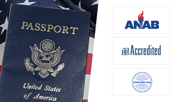 Various accreditation we have for Immigration DNA Tests